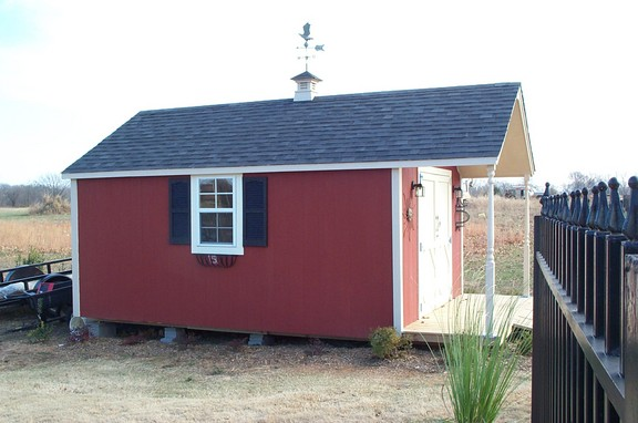 Storage buildings built on site backyard barns rogers ar for Garden sheds built on site